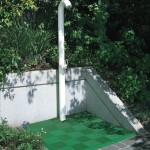 Outdoor Shower: Ribtrax (Turf Green)