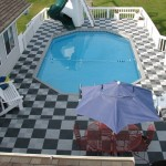 Outdoor Pool Deck: Ribtrax