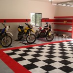 Checkerboard Garage: Ribtrax (Jet Black, Racing Red, Pearl Silver, Arctic White)