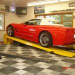 Corvette Garage: Ribtrax (Pearl Silver, Slate Grey)