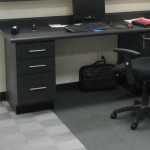Two Design Office: Ribtrax (Pearl Silver), Floortrax (Slate Grey)