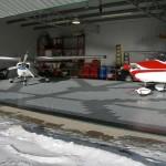 Hangar Floor: Diamondtrax