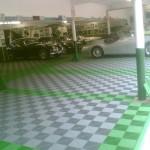 Large Workshop: Ribtrax (Turf Green, Pearl Silver)
