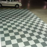 Floortrax Checkerboard Garage
