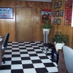 Checkerboard Office Flooring: Floortrax (Jet Black, Arctic White)