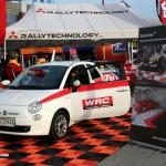 Fiat Car Pad Display: Ribtrax (Tropical Orange, Jet Black)