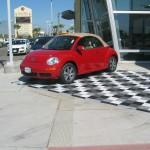 VW Car Dealership Showroom: Ribtrax