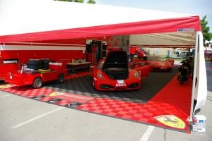 Ferrari Motorsports Show Booth: Ribtrax (Jet Black, Racing Red)