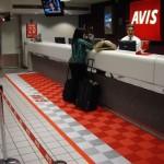 Avis Rental Car Customer Service Counter: Ribtrax