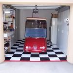 Single Space Garage: Ribtrax (Jet Black, Arctic White)