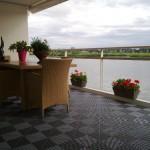 Slate Grey Balcony in Ribtrax