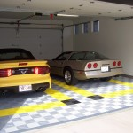 2-Stall Garage: Ribtrax (Citrus Yellow, Jet Black, Pearl Silver)