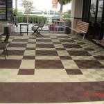 Outdoor Customer Area: Ribtrax (Chocolate Brown, Mocha Java)