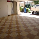 Southwest Checkerboard: Ribtrax (Mocha Java, Terra Cotta)