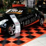 Nissan Car Display: Ribtrax (Tropical Orange, Jet Black)