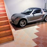 Stairway Wrap Garage: Ribtrax (Terra Cotta, Mocha Java)