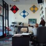 Office Flooring: Diamondtrax (Pearl Silver, Slate Grey, Racing Red)