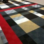 Garage Flooring Ideas - Burberry Garage Flooring Design with Swisstrax