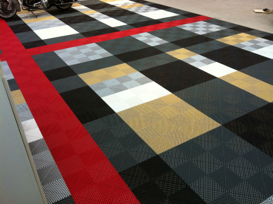 Garage Flooring Ideas Burberry Design With Swisstrax
