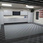 Classic Grey Garage: Ribtrax (Jet Black, Slate Grey)
