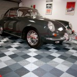 Classic Porsche Sport Garage: Ribtrax (Pearl Silver, Slate Grey, Racing Red)