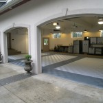 3-Car Stall Garage: Ribtrax (Pearl Silver, Slate Grey)