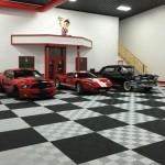 Fischer Garage: Ribtrax (Racing Red, Jet Black, Pearl Silver)