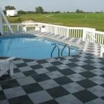 Pool Deck: Ribtrax (Jet Black, Pearl Silver)