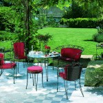Outdoor Garden Patio: Ribtrax (Pearl Silver)