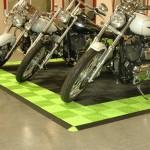 Motorcycle Pad: Ribtrax (Techno Green, Jet Black)