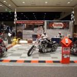 Motorcycle Flooring Exhibit: Ribtrax