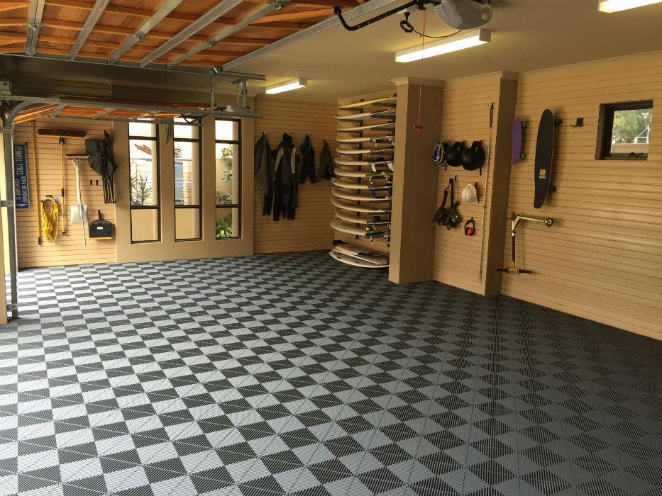 Stylish Modular Floors Tiles And Garage Flooring Swisstrax Canada