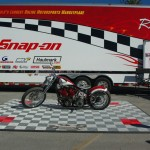 Snap-on Outdoor Motorcycle Exhibit Pad: Ribtrax