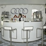 Audi VIP Event Display: Ribtrax (Pearl Silver)