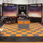 Harley-Davidson Show Booth: Ribtrax (Slate Grey, Tropical Orange, Jet Black)