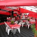 Honda Racing Hospitality Area: Ribtrax