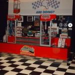 Checkerboard Show Booth: Diamondtrax (Arctic White, Jet Black)