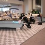 Large Boat Exhibit Floor: Ribtrax (Pearl Silver)