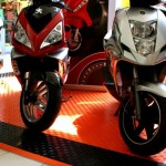 Motorcycle Event Display: Diamondtrax