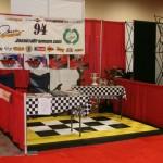 Show Booth: Ribtrax (Citrus Yellow, Jet Black, Arctic White)