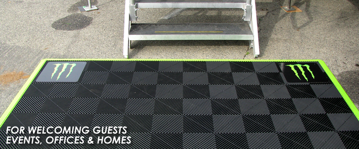 Anti-Fatigue Work Mats for Welcoming Guests