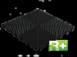 Ribtrax Rubbertrax - Swisstrax recycled flooring