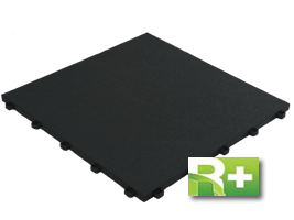 Floortrax Rubbertrax - Swisstrax recycled flooring