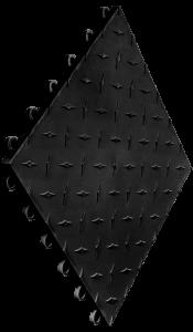 Swisstrax - Diamondtrax Tile - Black