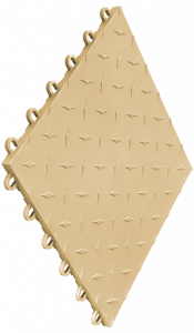 Swisstrax - Diamondtrax Tile - Brown