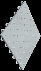 Swisstrax - Diamondtrax Tile - Silver