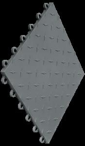 Swisstrax - Diamondtrax Tile - Grey