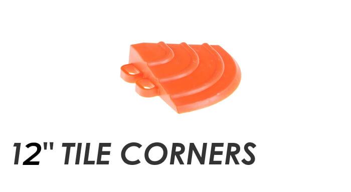 Swisstrax 12-inch Tile Corners