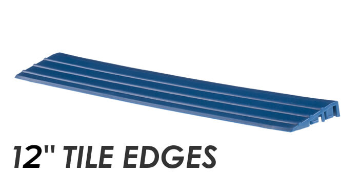 Swisstrax 12-inch Tile Edges